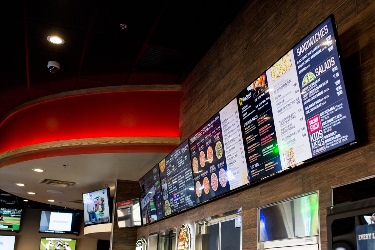 Embed Digital's Digital Menu for Pizza Hut San Bernardino