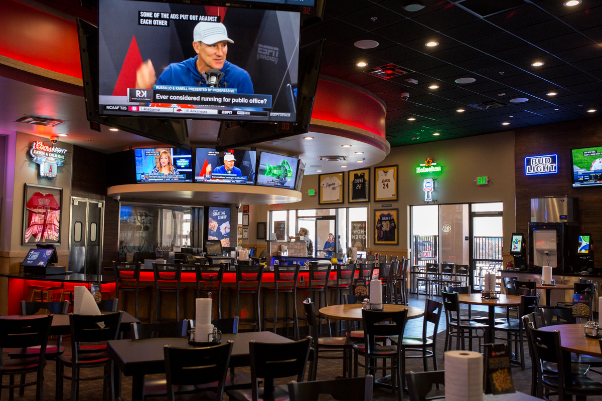 Embed Digital's Audio Visual for Pizza Hut San Bernardino