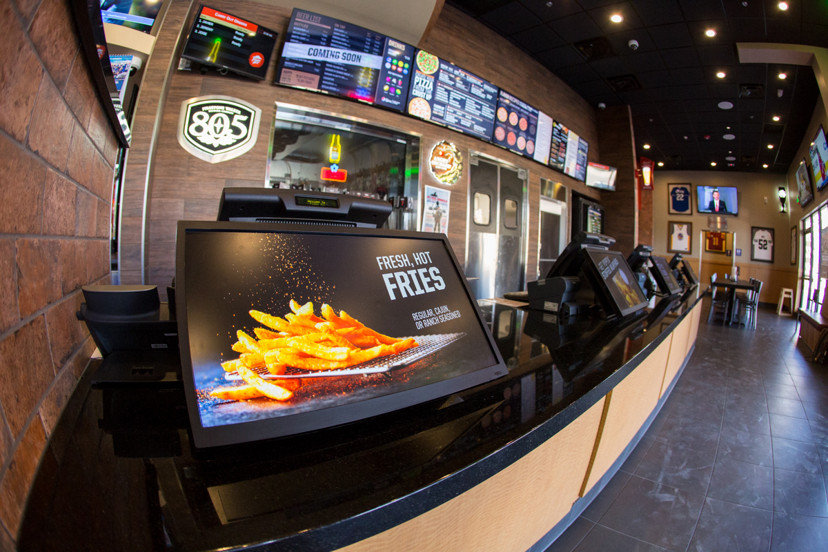 Embed Digital's Point of Sale system for Pizza Hut San Bernardino