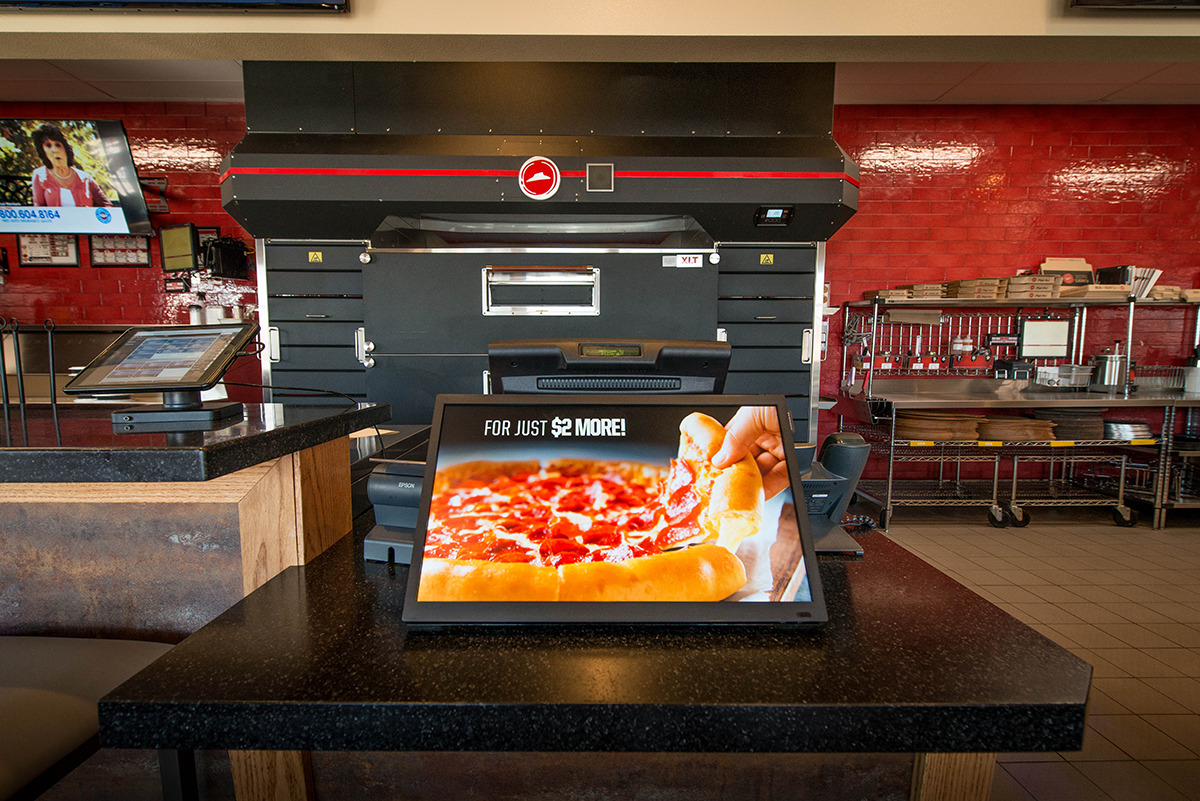 Digital Signage Solutions For Pizza Hut By Embed Digital