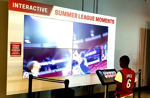 Summer League Digital Signage