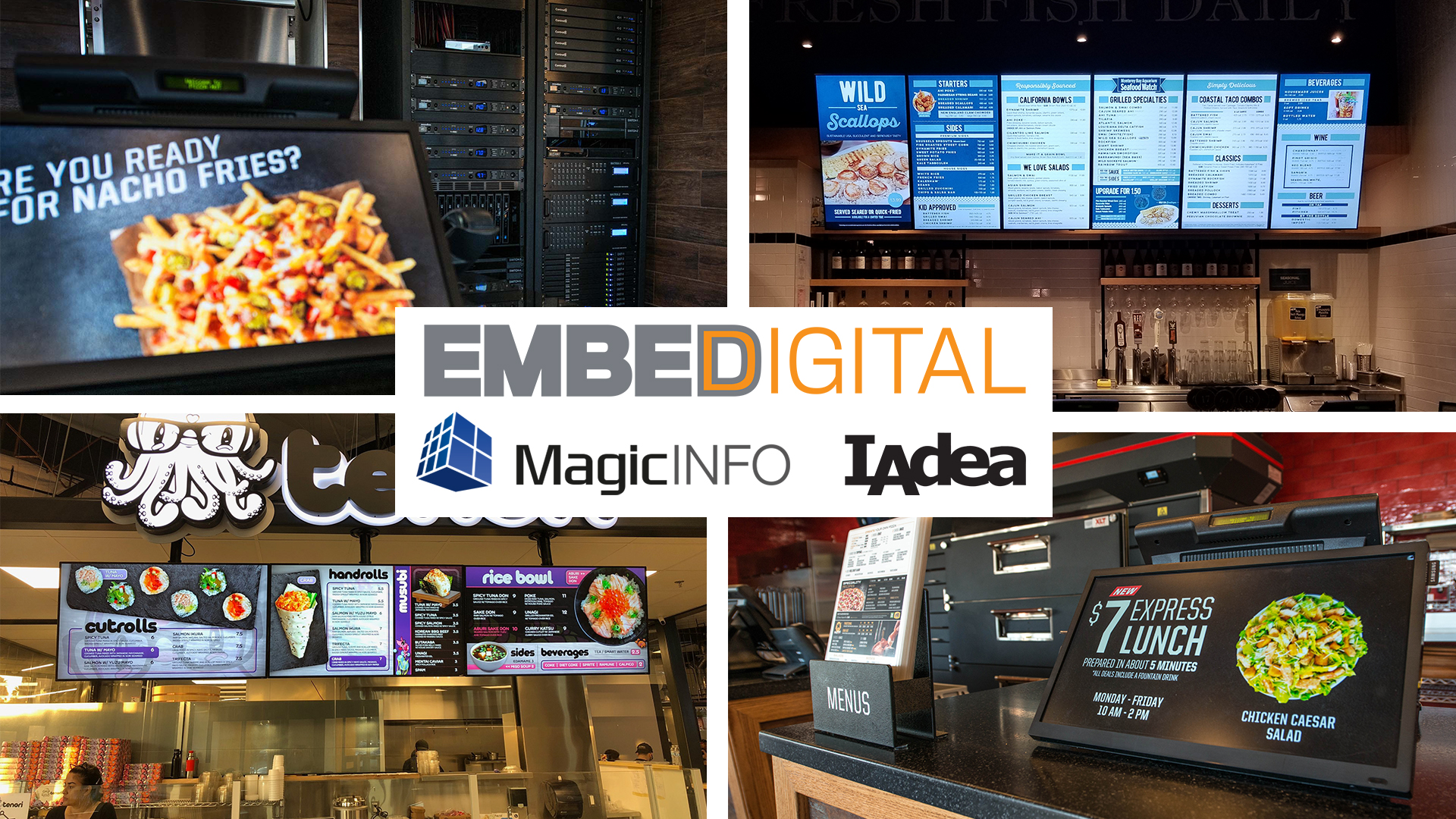 Embed Digital | Our Partners | Best of Breed Industry Leaders